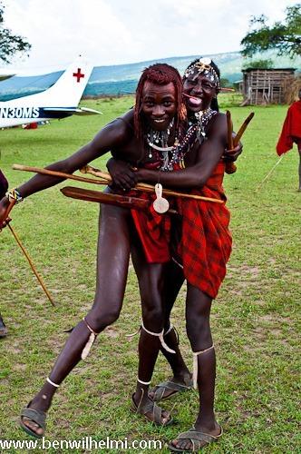 Ben Wilhelmi: Masai warriors, fun photography